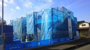 ★MISAWAHOMEで新築中の現場です!